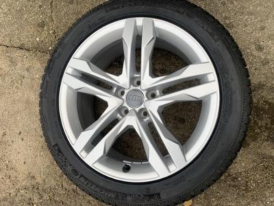 nová zimní sada alu 18 orig. Audi A4 Allroad, A6 aj. s 245.45.18 Mich.