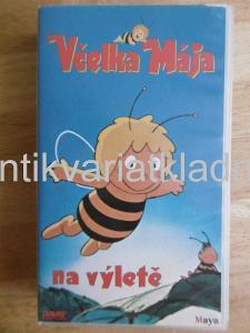 VHS VIDEOKAZETA- VČELKA MÁJA NA VÝLETĚ