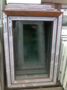 Plastová okna ( plastové okno ) 70x100 zlatý dub