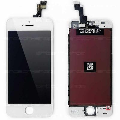 iPhone 5S/SE LCD dotyk Premium bílý ORIGINAL