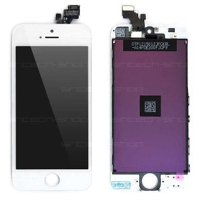 iPhone 5 LCD displej + dotyk bílý