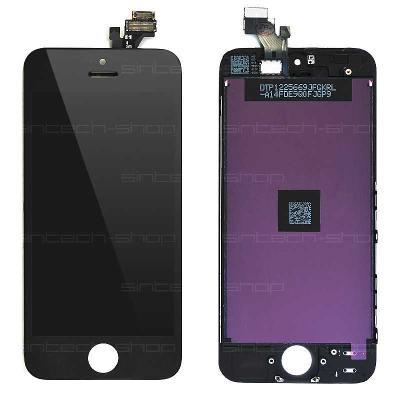 iPhone 5 LCD displej + dotyk černý