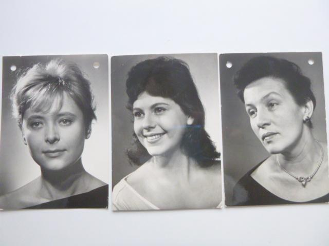 3xJANA KASANOVÁ MIRIAM HYNKOVÁ DANA MEDŘICKÁ známka razítko PRAGA 1968 - Pohlednice