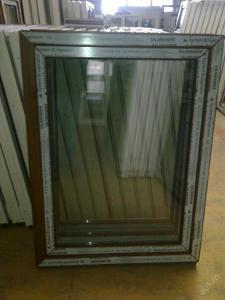 Plastová okna ( plastové okno ) 90x120 zlatý dub