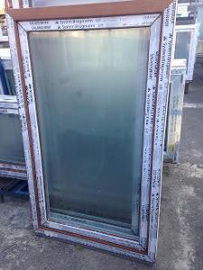 Plastová okna ( plastové okno ) 90x150 zlatý dub