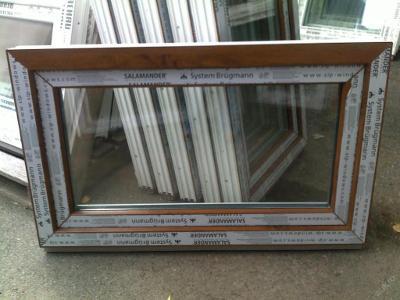 Plastová okna ( plastové okno ) 100x60 zlatý dub