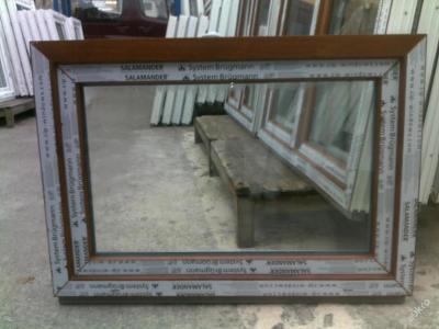 Plastová okna ( plastové okno ) 100x70 zlatý dub