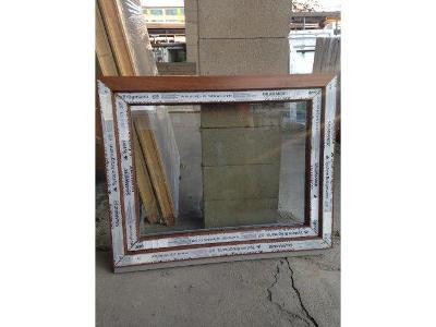 Plastová okna ( plastové okno ) 100x80 zlatý dub