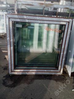 Plastová okna ( plastové okno ) 100x100 zlatý dub