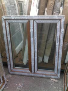 Plastová okna ( plastové okno ) 100x110 zlatý dub