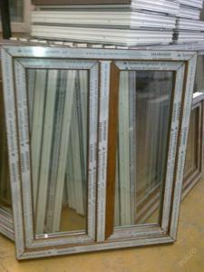 Plastová okna ( plastové okno ) 100x120 zlatý dub