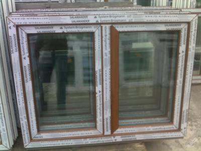 Plastová okna ( plastové okno ) 120x90 zlatý dub
