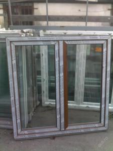 Plastová okna ( plastové okno ) 140x140 zlatý dub