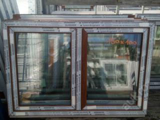 Plastová okna ( plastové okno ) 150x100 zlatý dub