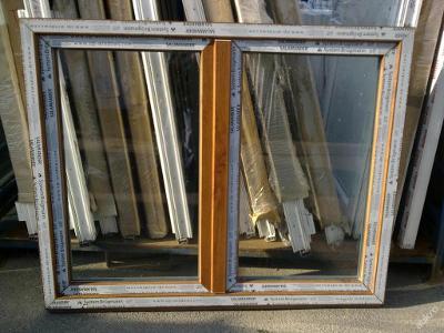 Plastová okna ( plastové okno ) 150x120 zlatý dub