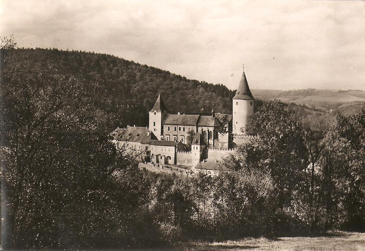 KŘIVOKLÁT - hrad - Rakovník - Pohlednice
