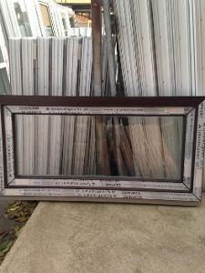 Plastová okna ( plastové okno ) 120x60 tmavý dub