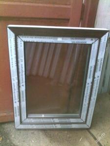 Plastová okna ( plastové okno ) 70x90 tmavý dub