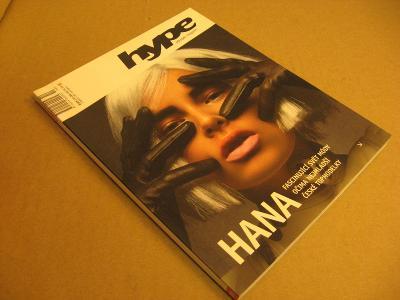 ++ HYPE lifestyle mag 10/2003 Hana Soukupová nejmladší topmodelka v ČR