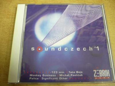 CD SOUNDCZECH 1 / Monkey Business, M.Pavlíček, Tata Bojs...