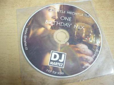 CD TECHTLE MECHTLE / One Birthday Mix / PROMO