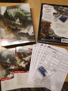 Dungeons & Dragons Starter Set - Komplet