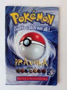 Raritní pravidla pro sběratele TCG Pokémon verze 2 česky