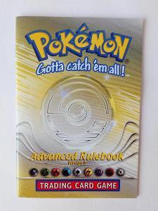 Raritní pravidla prosběratele TCG Pokémon z roku 2001 (Nové)