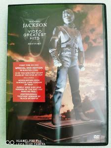 Michael Jackson DVD VIDEO GREATEST HITS SPEC.EDICE
