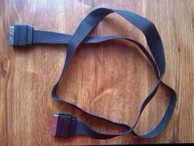 UPC Scart TV kabel plochý cca 150cm, skart 21 pin
