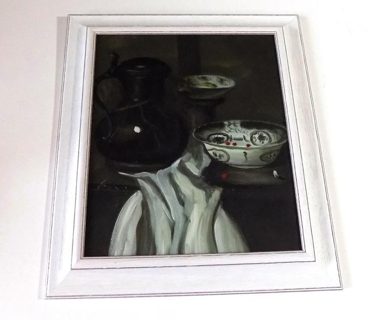 olejomalba  - ZÁTIŠÍ II.- nesignováno - Umění