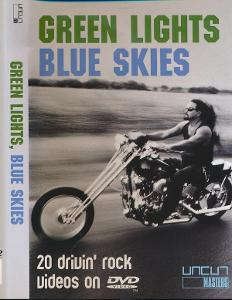 DVD Green Lights Blue Skies - 20 Drivin' Rock Videos