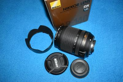 NIKON 18-140 mm f/3,5 5,6G ED VR  TOP STAV