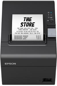 EPSON TM-T20III, černá, USB + serial (RS232)