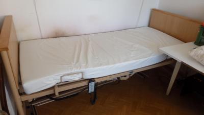 Elektrická polohovací postel - Burmeier