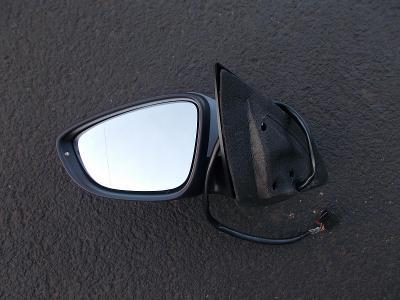 * VW Passat CC  r.v.08-12 - levé zp. zrcátko el.vyhř. s blik , sklopné