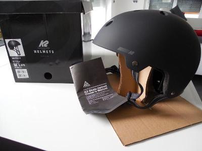 Zcela nová přilba na in-line K2 Varsity velikost M
