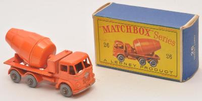 MATCHBOX RW No.  26B - Foden Cconcrete Truck