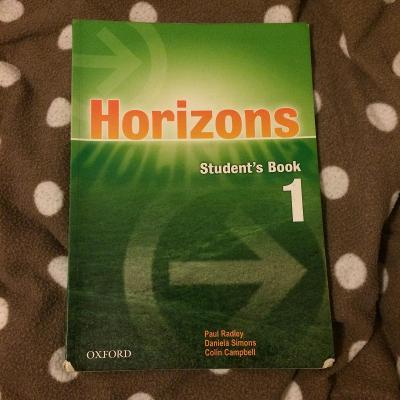 Učebnice Horizons 1, bez CD