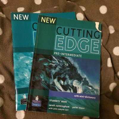 Učebnice a pracovní sešit Cutting Edge Pre-Intermediate