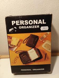 Obal na diář, poznámky - Personal Organizer