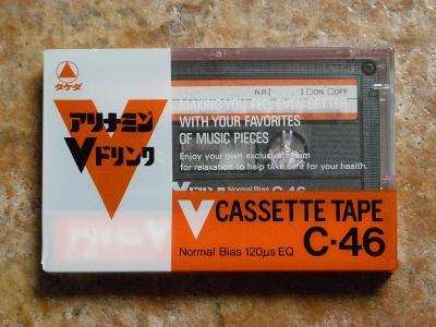 kazeta TDK V 46, typ I, Japan