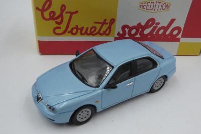 Alfa Romeo 156 Solido Retro BOX Made in China