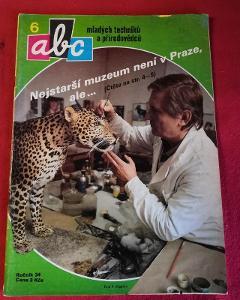 Časopis ABC s vystřihovánkou č.6/1989...(9992)