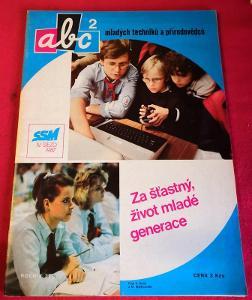 Časopis ABC s vystřihovánkou č. 2/1987...(9995)