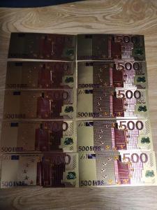 10 Bankovek 500