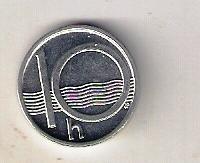 Česko 10 Haléřů 2002
