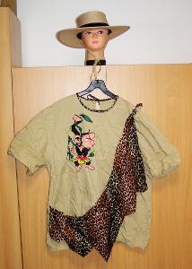 7882 PRŮVODCE SAFARI - karnevalový kostým pro dospělé