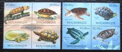 Mosambik 2012 Želvy Mi# Mi# 5665-72 Kat 16€ 1876