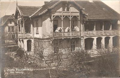 VELICHOVKY - lázně - vila Herzog - Náchod